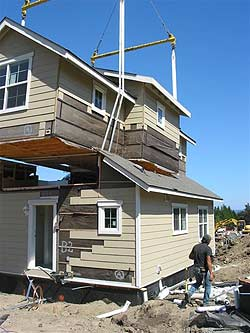 Construction resource group seattle washington modular for Prefabricated homes seattle